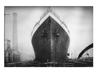 Titanic at the Thompson Graving Dock Fine-Art Print