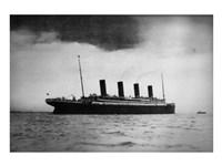 Titanic at Sea Fine-Art Print
