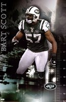 NY Jets - B Scott 09 Wall Poster