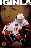 Flames® - J Iginla 09 Wall Poster