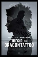 The Girl with the Dragon Tattoo movie poster Wall Poster