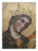 La Vierge et I enfant Fine-Art Print