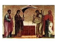 Presentation at the Temple Fine-Art Print