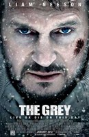 The Grey Wall Poster