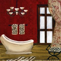 Pal Beach Bath III Fine-Art Print