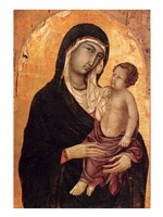 Virgin and Child portrait Fine-Art Print