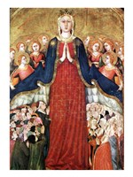 Madonna with angels Fine-Art Print