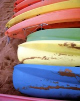 Kayaks II Fine-Art Print