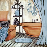 Chateau Bath I Fine-Art Print