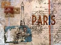Paris Postcard Fine-Art Print