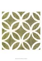 Garden Tile IV Fine-Art Print