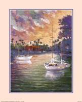 Three Sailboats Fine-Art Print