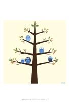 Orchard Owls II Fine-Art Print
