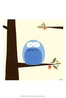 Orchard Owls III Fine-Art Print