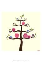 Orchard Owls V Fine-Art Print