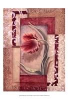 Red Tulip Collage I Fine-Art Print