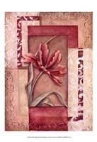 Red Tulip Collage II Fine-Art Print
