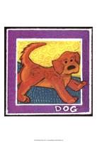 Whimsical Dog Fine-Art Print
