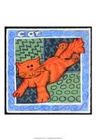 Whimsical Cat Fine-Art Print