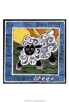 Whimsical Sheep Fine-Art Print