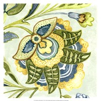 Decorative Golden Bloom IV Fine-Art Print