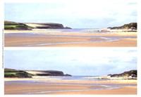 2-Up Sunlit Sands I Fine-Art Print