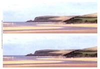 2-Up Sunlit Sands II Fine-Art Print