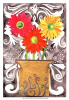 3 Tin Flowers Fine-Art Print