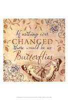Butterfly Notes VI Fine-Art Print