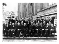 1927 Solvay Conference on Quantum Mechanics Fine-Art Print