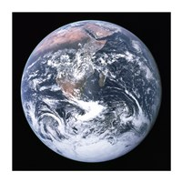 The Earth seen from Apollo 17 Fine-Art Print