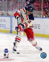 Marian Gaborik 2012 NHL Winter Classic Action Framed Print