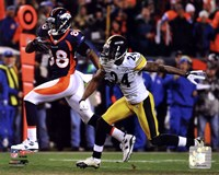 Demaryius Thomas Game Winning Touchdown 2011 AFC Wild Card Playoff Action Fine-Art Print