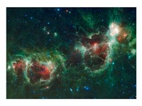 The Heart and Soul Nebulae Fine-Art Print