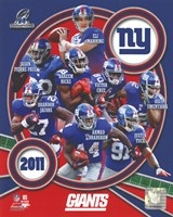New York Giants 2011 NFC Champions Team Composite Fine-Art Print