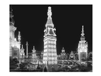 Night in Luna Park, Coney Island, NY Fine-Art Print