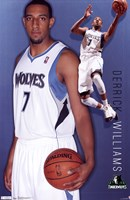 Timberwolves - D Williams 11 Wall Poster