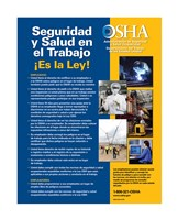 OSHA Job Safety and Health Spanish Version 2012 Fine-Art Print