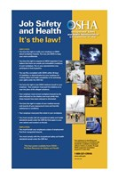 OSHA Job Safety and Health Version 2012 Fine-Art Print