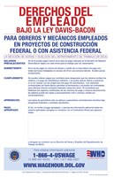 Employee Rights Under the Davis-Bacon Act Spanish Version 2012 Fine-Art Print