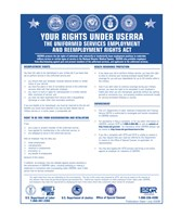 USERRA Uniformed Services Employment and Reemployment Rights Act Fine-Art Print
