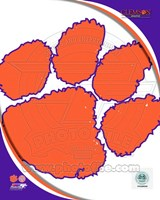 Clemson University Tigers Team Logo Fine-Art Print