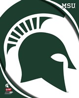 Michigan State University Spartans Team Logo Fine-Art Print