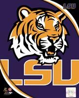Louisiana State University Tigers Team Logo Fine-Art Print