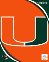 University of Miami Hurricanes Team Logo Fine-Art Print