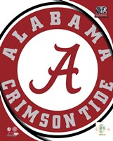 University of Alabama Crimson Tide Team Logo Fine-Art Print
