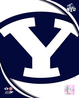 Brigham Young University Cougars Team Logo Fine-Art Print