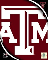 Texas A&M University Aggies Team Logo Fine-Art Print