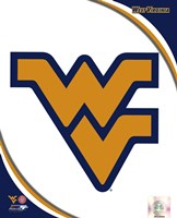 West Virginia University Mountaineers Team Logo Fine-Art Print