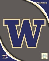 University of Washington Huskies Team Logo Fine-Art Print